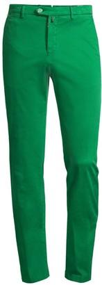 Kiton Straight-Fit Stretch Pants