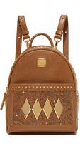 MCM Crystal Baby Backpack