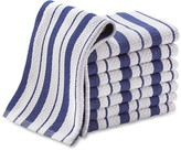 Williams-Sonoma Williams Sonoma Classic Striped Dishcloths, Bright Blue