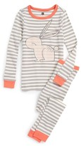 Tea Collection Girl's Rabaid Fitted Two-Piece Pajamas