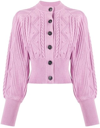 Temperley London Chunky Knit Cardigan