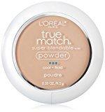 L'Oreal True Match Super-Blendable Powder, Natural Ivory, 0.33 oz.