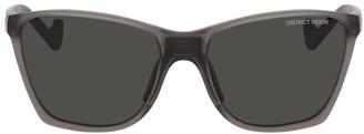 District Vision Grey Keiichi Sunglasses