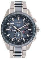 Seiko Astron GPS Solar Dual Time Titanium SSE043 45mm Mens Watch