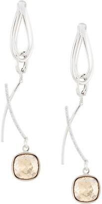 Mounser Hoop And Charm Earrings