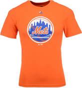 Majestic New York Mets Primary Logo T-Shirt, Big Boys (8-20)