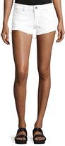 DL1961 Renee Cutoff Denim Shorts, White