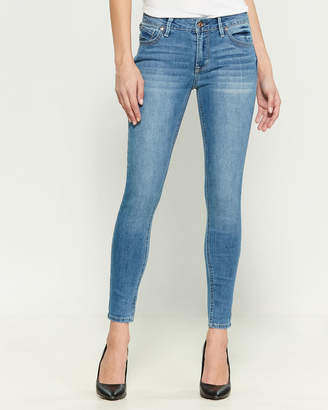 Kensie Knockout Mid-Rise Ankle Skinny Jeans