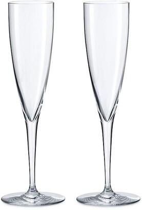Baccarat Dom Perignon Champagne Flutes, Set of 2