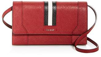 Bally Strafford Leather Convertible Crossbody