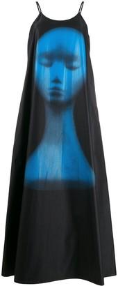 Christopher Kane Mannequin Print Dress