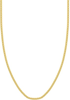 Saks Fifth Avenue 14K Yellow Gold Box Chain Necklace
