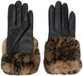 Gala printed detail gloves