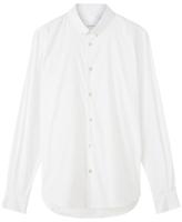 Jigsaw Stretch Poplin Shirt, White