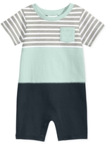 First Impressions Colorblocked Striped Cotton Romper, Baby Boys (0-24 months)