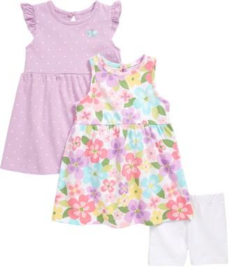 Little Me Dresses & Shorts Set