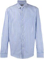 Salvatore Ferragamo vertical striped shirt - men - Cotton - S