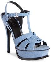 Saint Laurent Women's 'Tribute' Platform Sandal