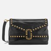 Marc Jacobs Women's Small Studded Envelope Shoulder Bag - Black
