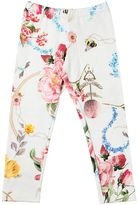MonnaLisa Printed Cotton Jersey Leggings