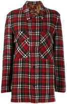 Pierre Louis Mascia checked flannel shirt