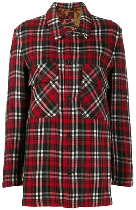 Pierre Louis Mascia Checked Flannel Shirt