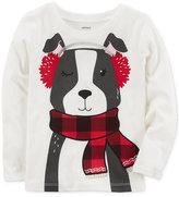 Carter's Dog-Print Cotton T-Shirt, Toddler Girls (2T-5T)