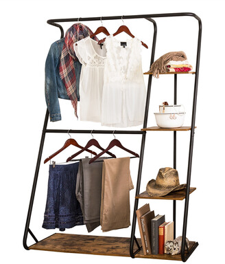 Honey-Can-Do Z-Frame Wardrobe