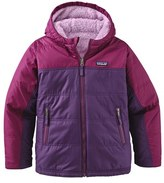 Patagonia Girl's 'Fuzzy Puff' Windproof & Water Resistant Reversible Jacket