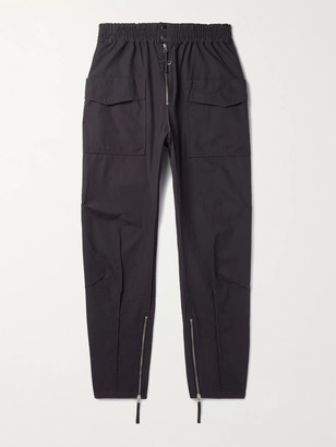 Isabel Marant Tilsen Cotton Cargo Trousers - Men - Blue