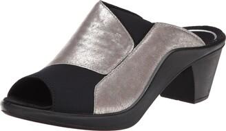Romika Women's Mokassetta 244 Dress Sandal Platin Antik Metallic 39 BR/8-9 M US