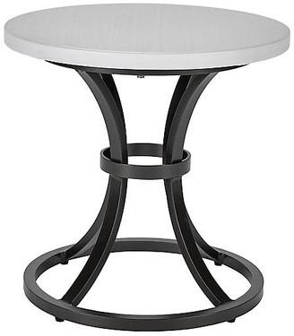 Lane Venture Calistoga Outdoor Small Side Table - Dark Bronze