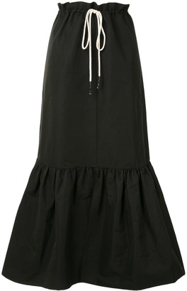 Lee Mathews Reo maxi skirt