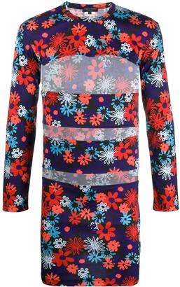 Comme des Garcons Long-Sleeve Floral T-Shirt