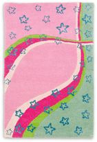 Safavieh Kids® Stars and Stripes Rug in Green/Pink