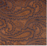Duchamp Paisley Silk Pocket Square