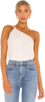 Krisa One Shoulder Tank