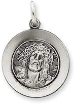 1928 Gold and Watches Sterling Silver Antiqued Ecce Homo Medal