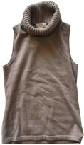 Michael Kors Camel Cashmere Knitwear