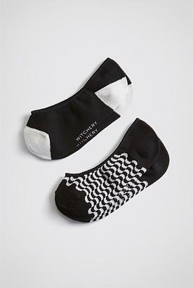Witchery Bubble Loafer Socks