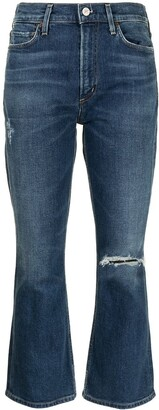 Citizens of Humanity Cropped Bootcut Jeans