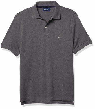 Nautica Men's Classic Fit Interlock Polo