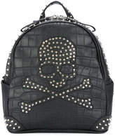 Philipp Plein Margin - 1 backpack - men - Leather/metal - One Size