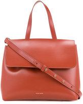 Mansur Gavriel flap tote - women - Leather - One Size