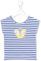 Lapin House - striped sleeveless T-shirt - kids - Spandex/Elastane/viscose - 2 yrs