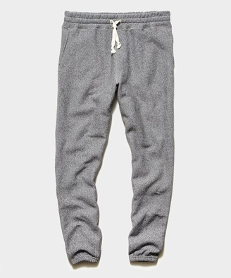 Todd Snyder Fleece Classic Sweatpant in Salt and Pepper