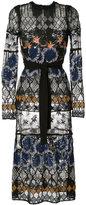 Yigal Azrouel botanic embroidered lace dress - women - Nylon/Polyester - 2