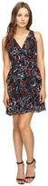 Adelyn Rae Printed Ruffle Fit and Flare Dress