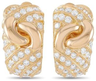 Heritage Bvlgari Bulgari 18K 3.00 Ct. Tw. Diamond Earrings