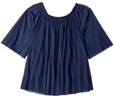Polo Ralph Lauren Pleated Jersey Top Girl's Clothing
